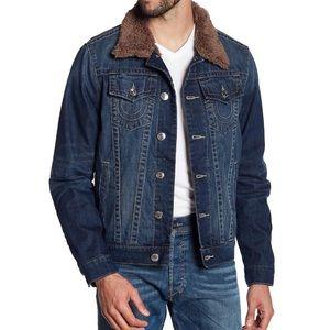 NWT True Religion Denim Jacket M & L